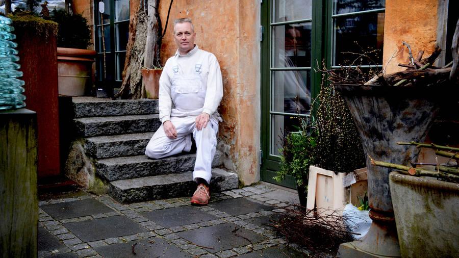 Renovering af gårdhave og blomsterværksted - Jan Munch Blomster.
